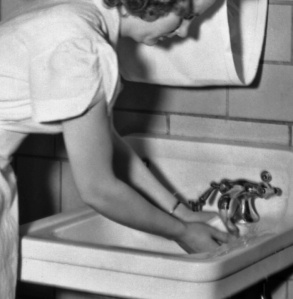 washing-her-hands