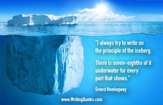 Ernest-Hemingway-Quotes-Iceberg