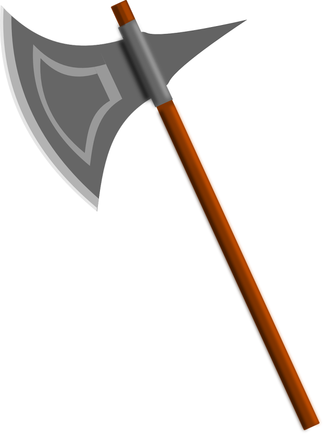 battle-axe-154454_1280