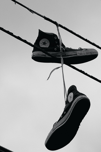 shoe-tossing